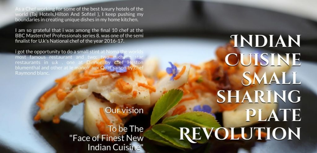 Indian small sharing plate revolution cook book