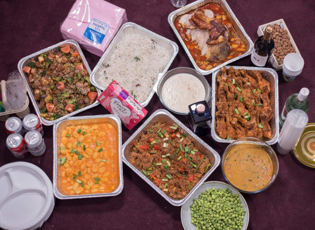 Party food ideas for adults indian