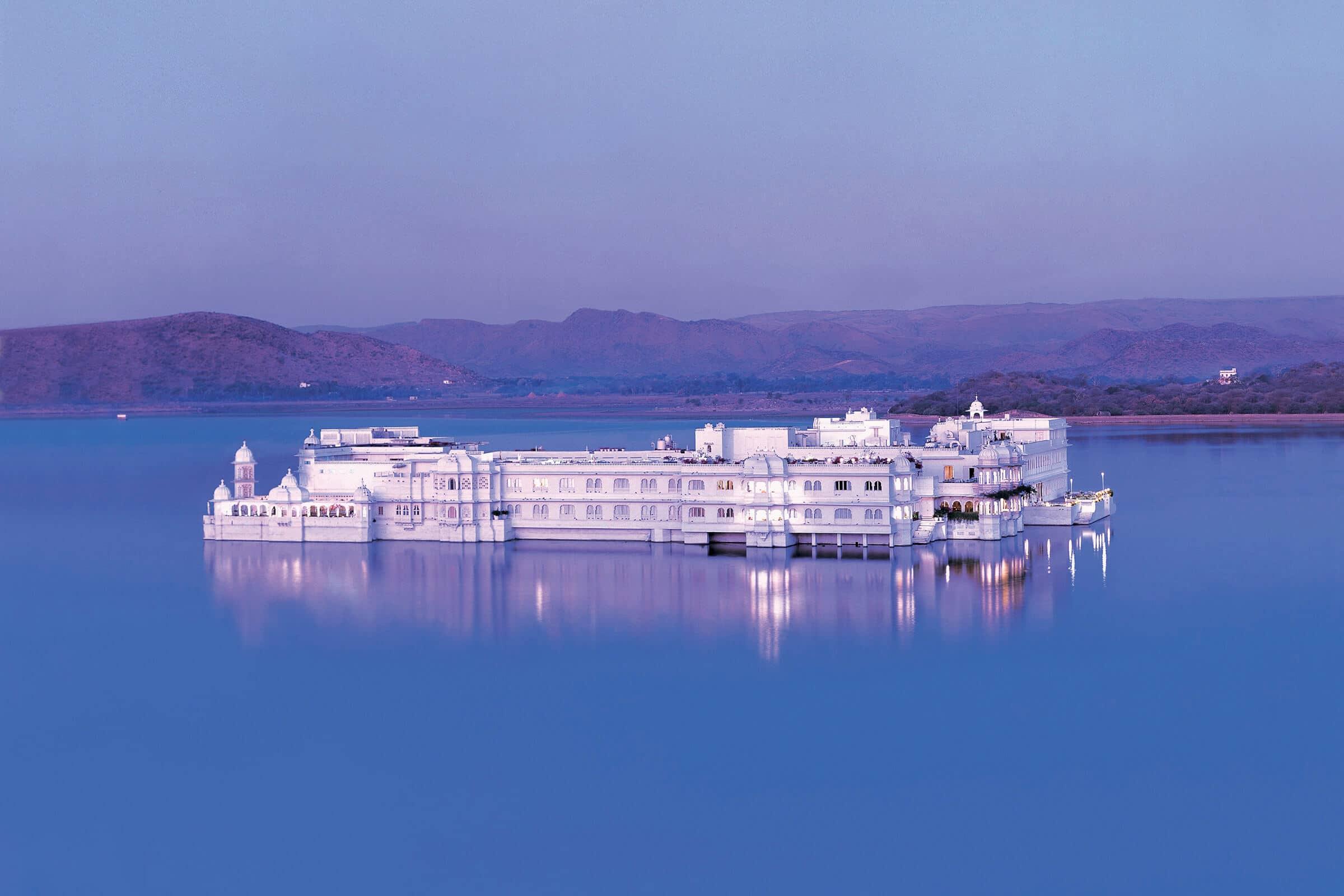 Lake Palace on fine dining Indian