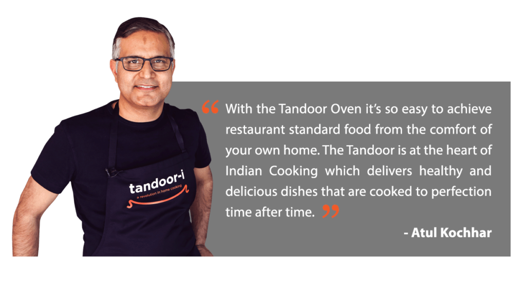 Atul Kochhar for Tandoor-i on Fine dining Indian