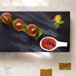 indian accent galawat, strawberry green chilli chutney-min