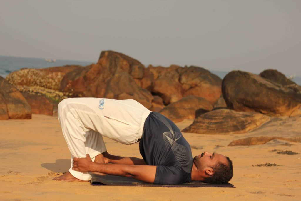 Sethubandhanasaana or Bridge Pose