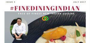 Fine dining Indian magazine