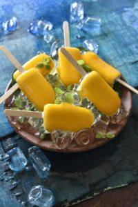 Dessert Mango Lassi Popsicle