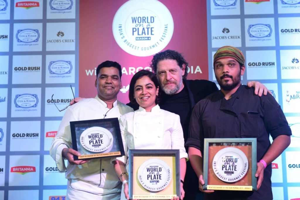 MPW with Chef Amninder Kaur at the finale of Restaurant of The Year-min